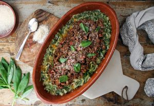 Courgetti Low Carb Bolognese