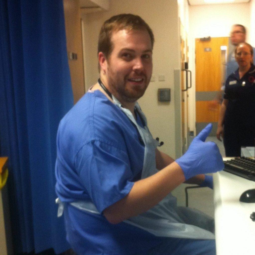 Dr Dan Maggs At Work