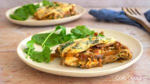 Keto Beef and Spinach Lasagna