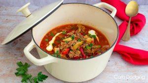 Low Carb Pork Paprikash Soup