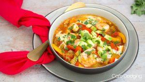 Low Carb Spicy King Prawn Stew