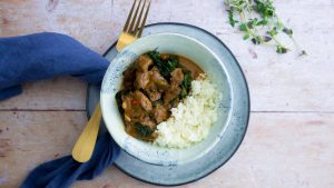 Caribbean Keto Beef Stew